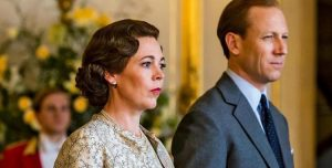 Rainha Elizabeth e Príncipe Phillip na 3ª temporada de The Crown, da Netflix