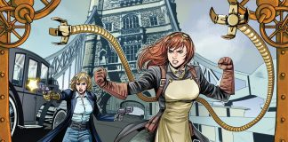 steampunk ladies choque do futuro zé wellington e sara prado editora draco