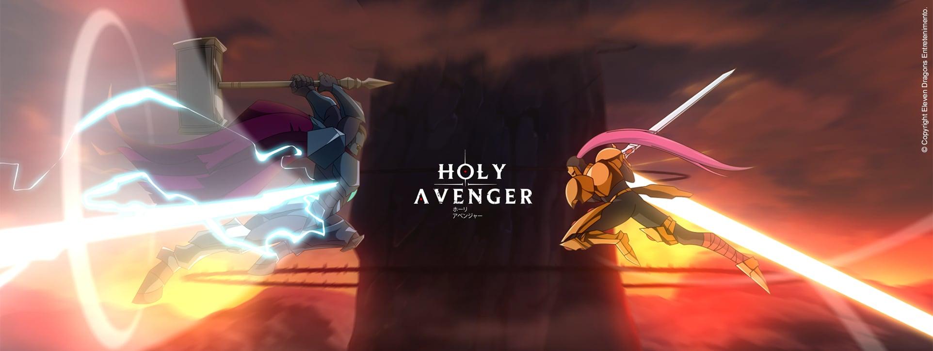 Holy Avenger, animação da Eleven Dragons