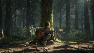 The Last of Us Part II -Ellie playstation