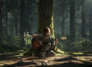 The Last of Us Part II -Ellie playstation
