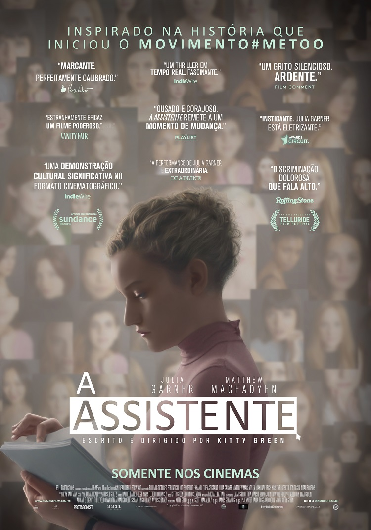 A Assistente | Drama com Julia Garner ganha pôster; confira | CosmoNerd