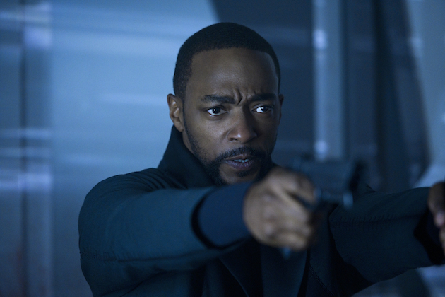 ALTERED CARBON Anthony Mackie é Takeshi Kovacs