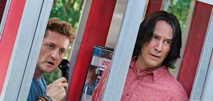 Keanu Reeves e Alex Winter estão de volta