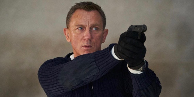 Daniel Craig interpreta Bond pela última vez