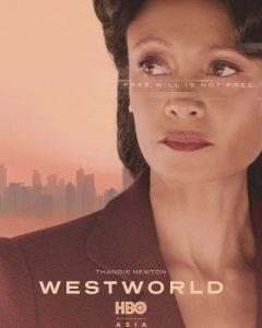 Thandie Newton é Maeve