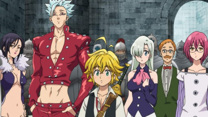 The Seven Deadly Sins: Wrath of Gods
