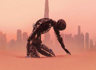 Cartaz da terceira temporada de Westworld