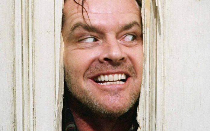 Jack Nicholson em O Iluminado
