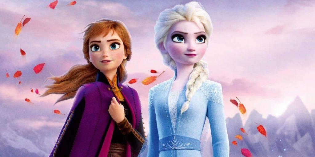 Anna e Elsa em Frozen 2