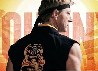 William Zabka em cartaz da série
