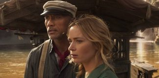The Rock e Emily Blunt em Jungle Cruise