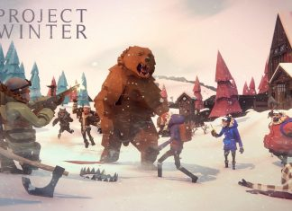 Poster do bord game Project Winter