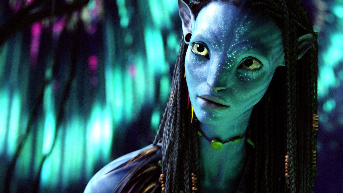 Zoe Saldana em Avatar