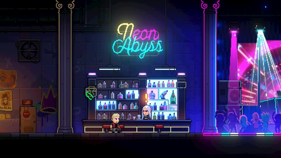 neon abyss screenshot