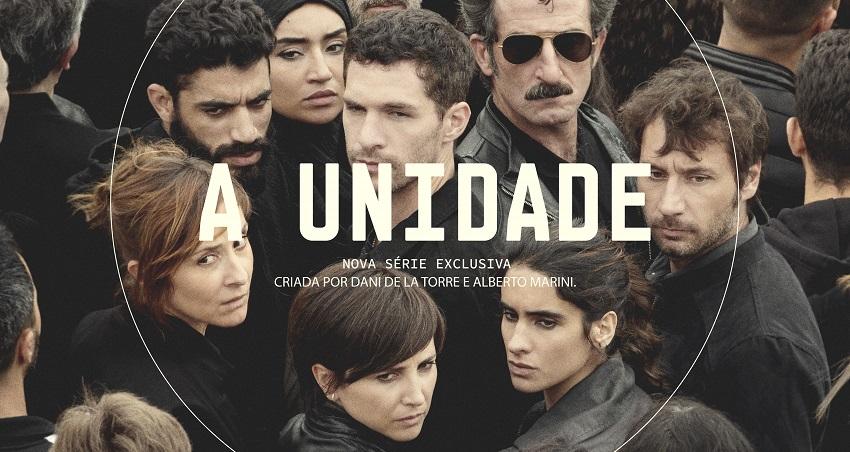 cartaz de a unidade, série espanhola da hbo go