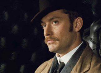 Jude Law em Sherlock Holmes