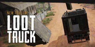 caminhão de loot pubg