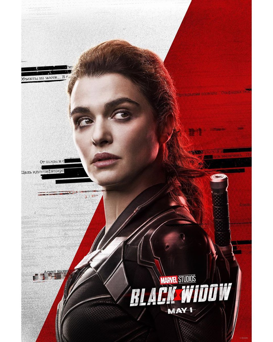 rachel weisz em cartaz individual de viúva negra