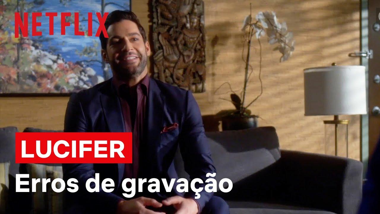 Lucifer | Veja os erros de gravação em vídeo hilário da Netflix
