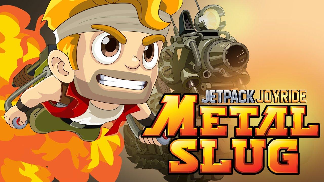 Metal Slug terá crossover com Jetpack Joyride