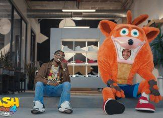 Crash se aventura no mundo do hip hop em vídeo promocional