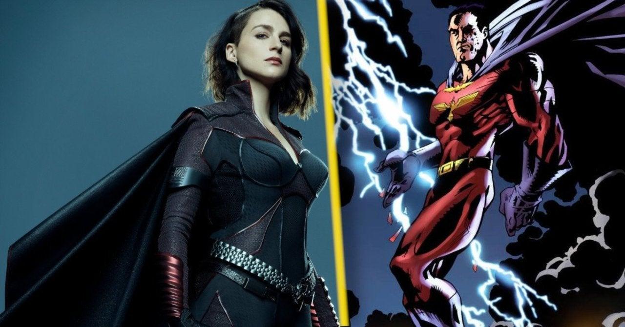 tempesta, a stormfront da série e sua versão masculina nas hqs
