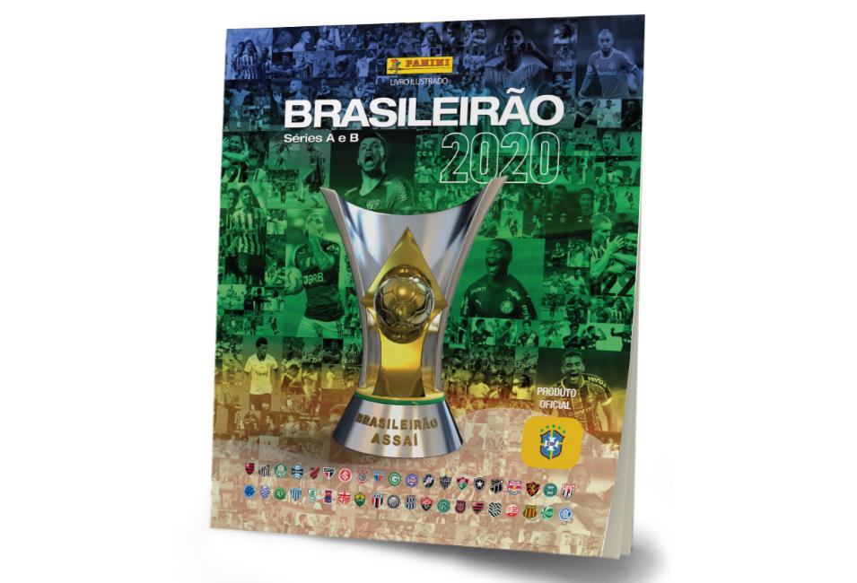 álbum de figurinhas brasileirão 2020 editora panini