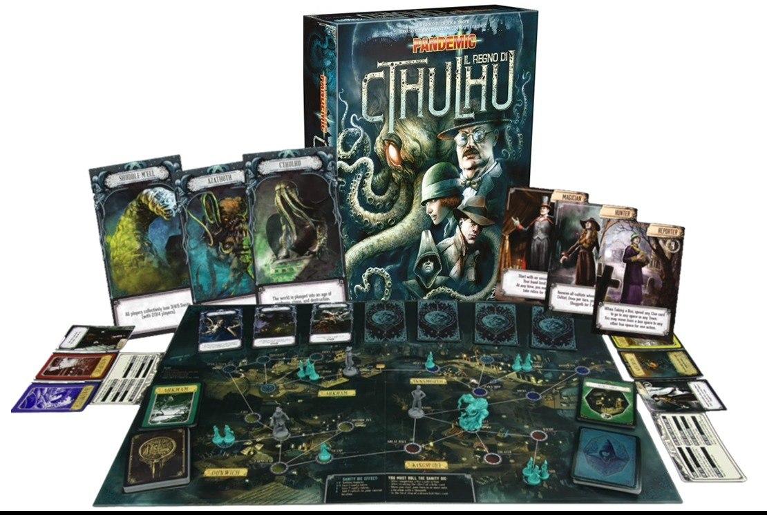 lovecraft boardgame