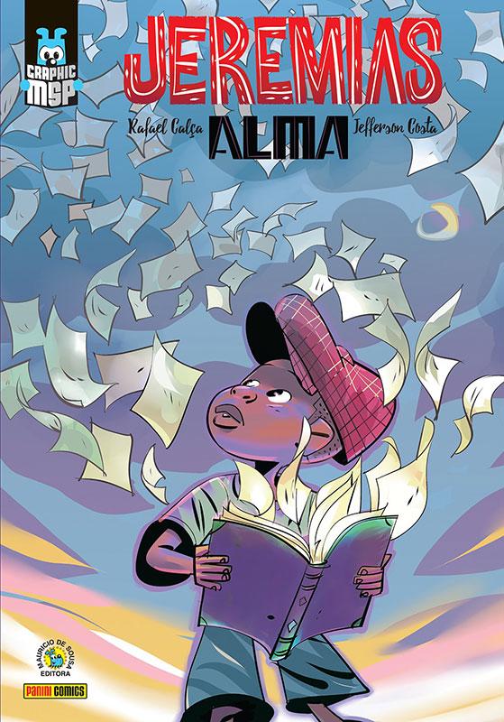 Jeremias - Alma | Graphic MSP tem capa revelada por Sidney Gusman | CosmoNerd
