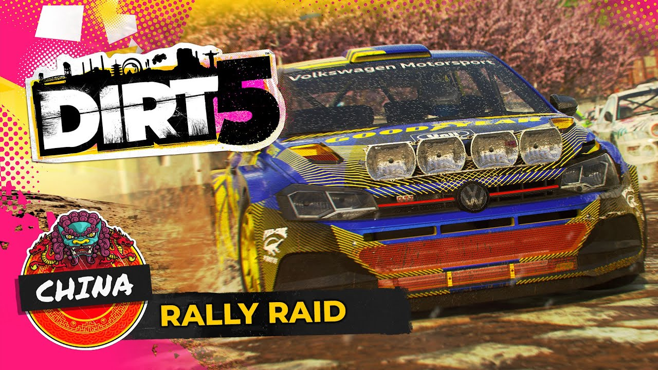 dirt 5 china gameplay rally raid