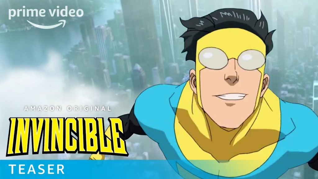 invincible amazon prime video trailer