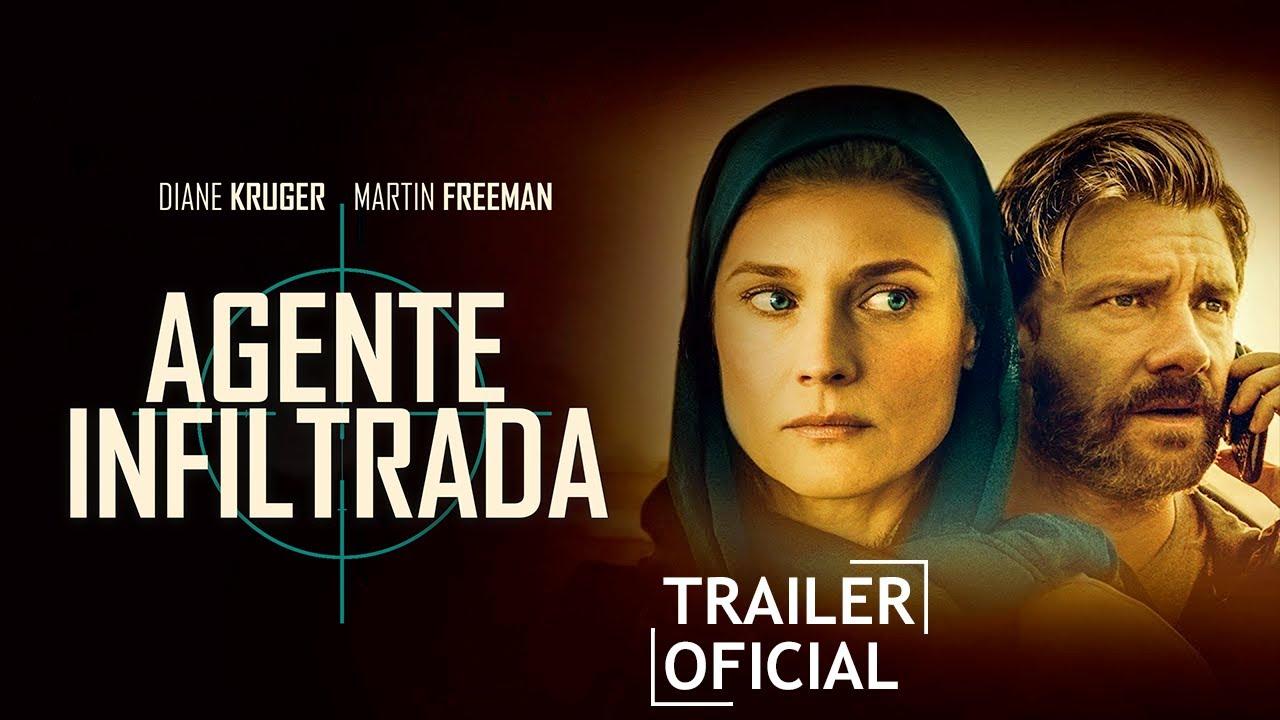 Agente Infiltrada, com Diane Kruger e Martin Freeman, ganha trailer