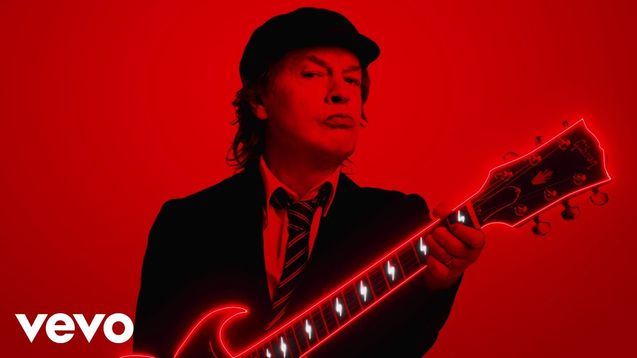 ac/dc power up shot in the dark videoclipe; realize