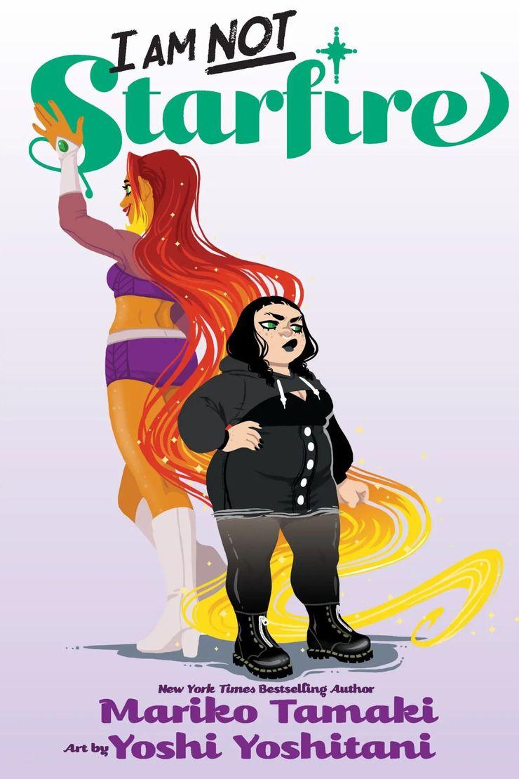 I Am Not Starfire hq da dc comics estrelada por Estelar e Mandy