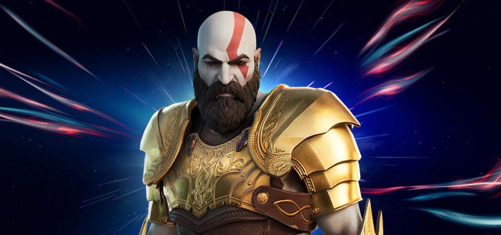 Kratos em Fortnite