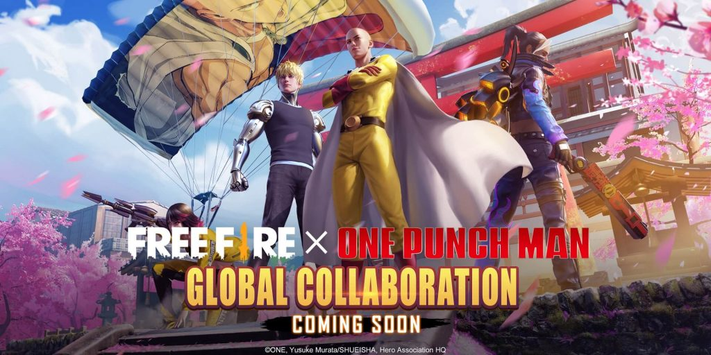free-fire-one-punch-man