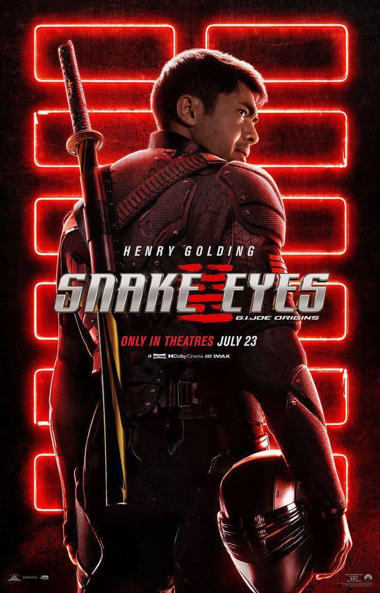 GI Joe Origens: Snake Eyes
