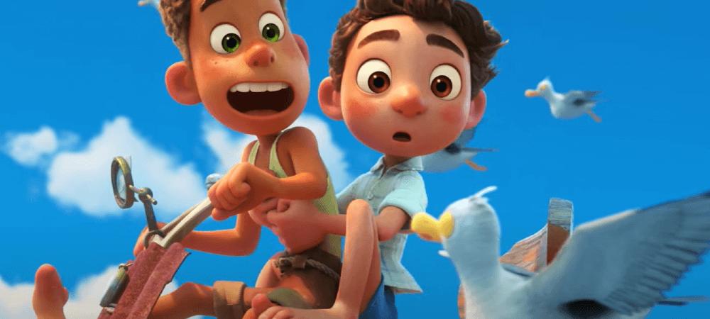 Disney Plus Luca animação