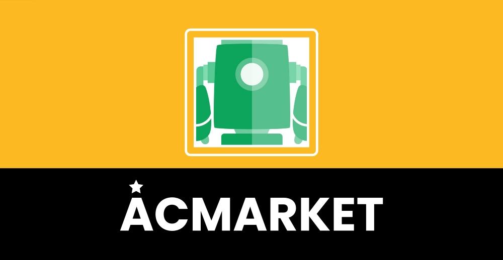 ACMarket guia de download do app   dicas