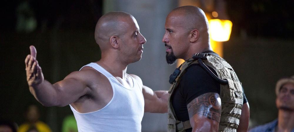 Vin Diesel e Dwayne Johnson