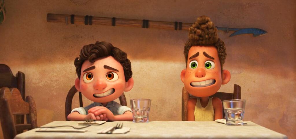 luca animação disney pixar