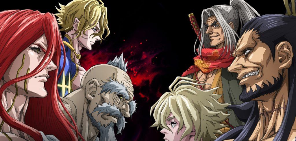 record of ragnarok 1a temporada anime netflix