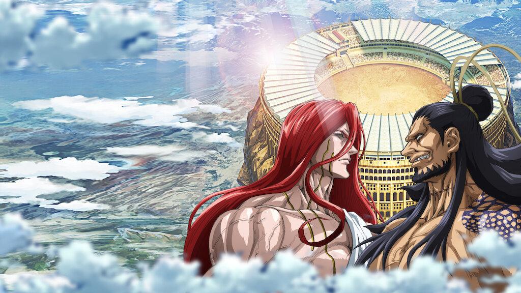 record-of-ragnarok-1a-temporada-anime-netflix-thor-e-lu-bu