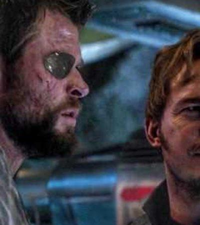 Chris Hemsworth e Chris Pratt