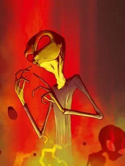 On Mars Alien Invasion