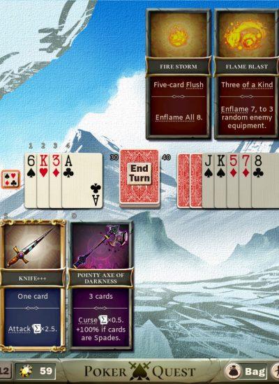 poker quest jogo roguelike