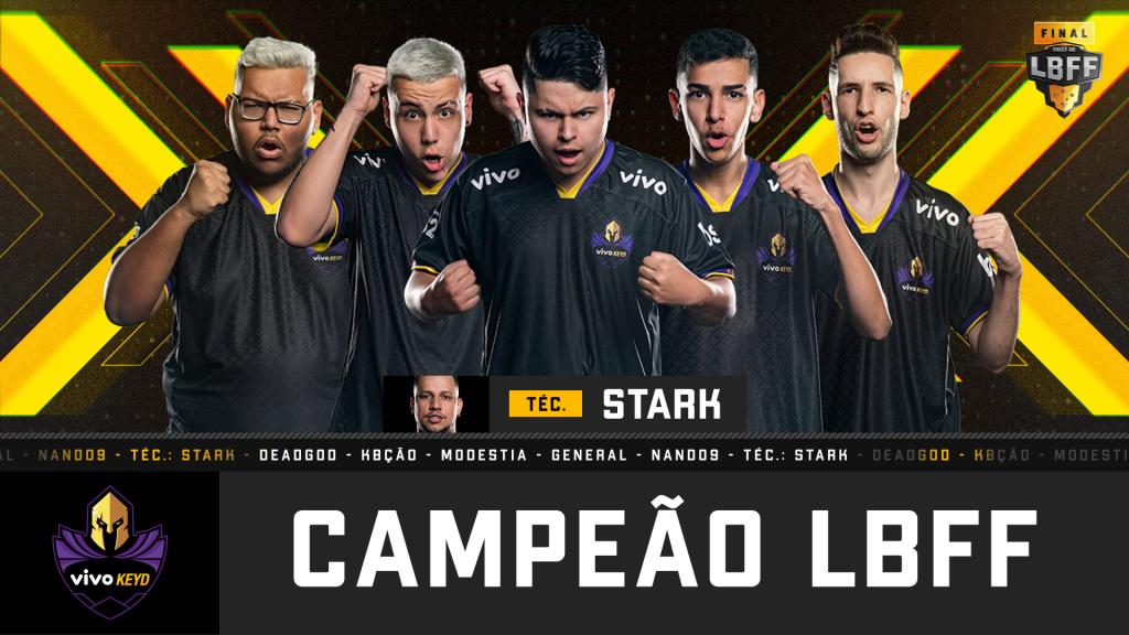 vivo keyd lbff 5 liga brasileira de free fire