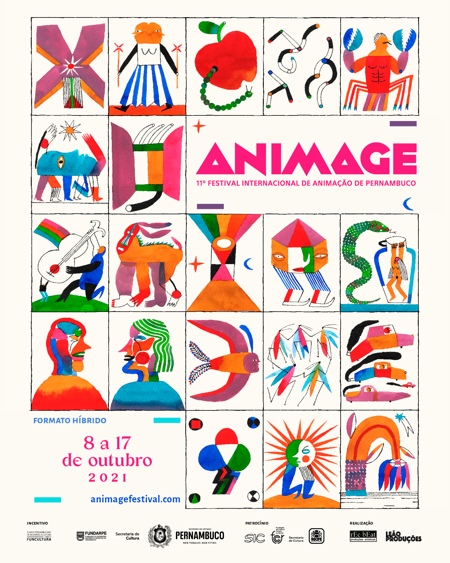 Animage 2021 POSTER OFICIAL