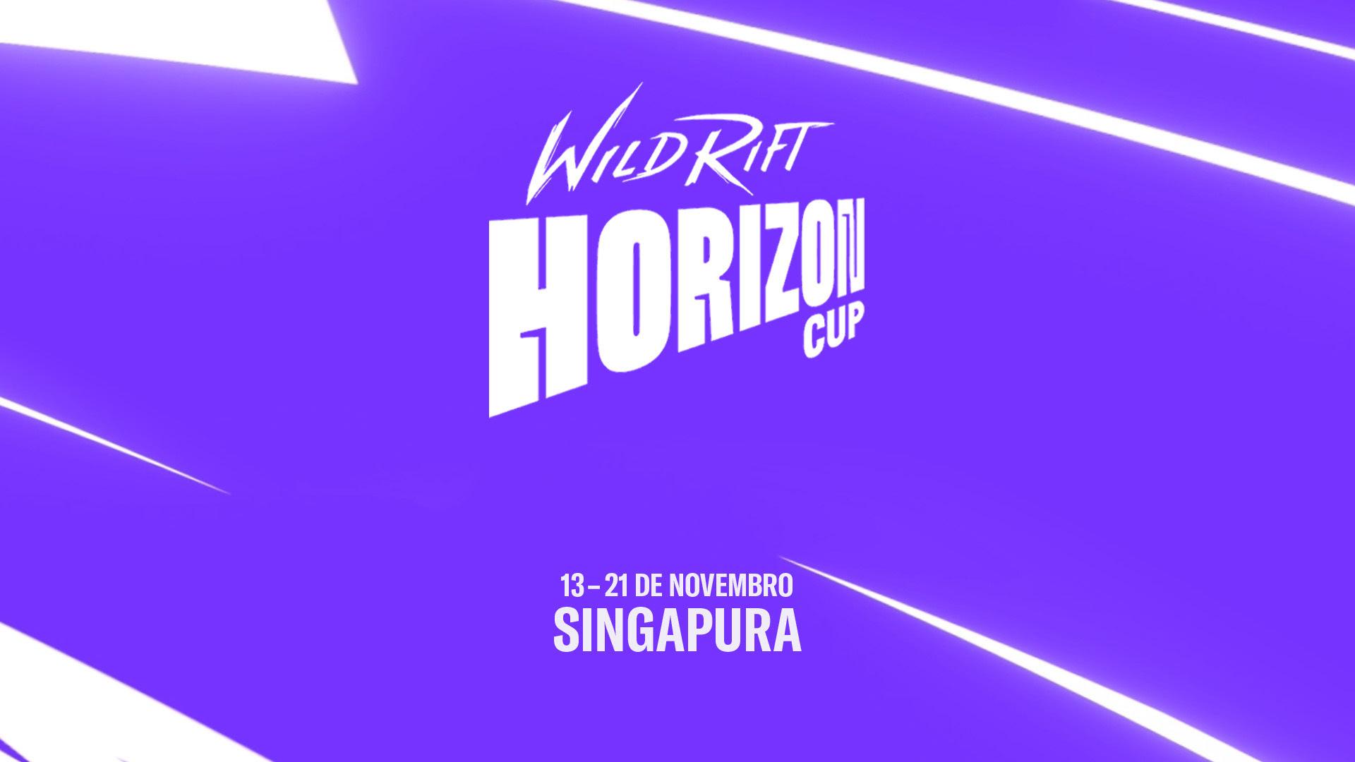 Wild Rift Horizon Cup é apresentado pela Riot Games